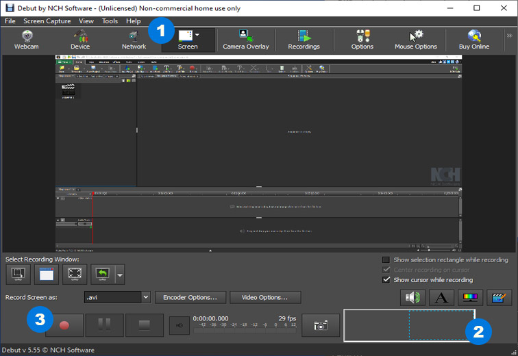 nch screen recorder